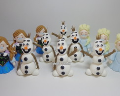 PERSONAGENS FROZEN APLIQUE