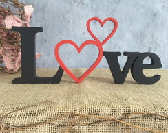 LOVE -letras decorativas de MDF