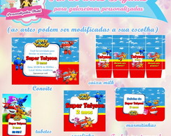 Arte digital Super wings