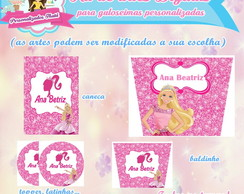 Kit digital personalizado Barbie