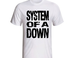 Camiseta System Of A Down Banda Rock