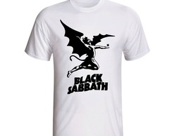 Camisa Camiseta Banda Rock Black Sabbath