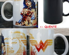 Caneca Magica Wonder Woman