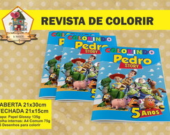 Revista Para Colorir TOY STORY