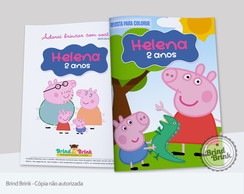 Peppa Pig Revista Colorir