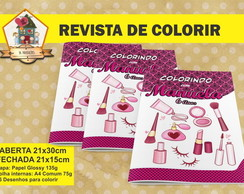 Revista Para Colorir BARBIE FASHION