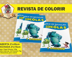 Revista Colorir MONSTROS S.A