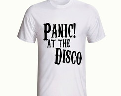 Camiseta Panic! At The Disco Banda Rock