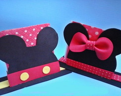 Porta guardanapo Minnie ou Mickey