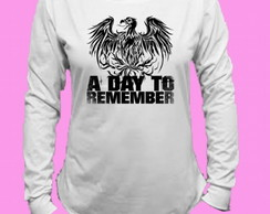 Camiseta A Day to Remember Canoa Longa 1