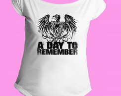 Camiseta A Day to Remember gola canoa 1