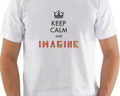 "Camiseta ou baby look ""Imagine"""