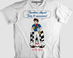 Camisa SPEED RACER PERSONALIZADA
