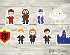 Aplique Harry Potter 5 cm