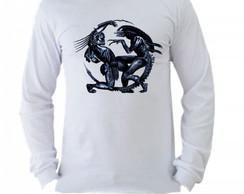Camiseta Alien Manga Longa 2  caa8d3104dc2f