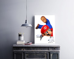 "Placa decorativa ""Super Mario"""