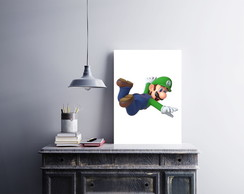 "Placa decorativa ""Luigi"""