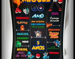 Chalkboard POKEMON