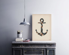 "Placa decorativa ""Anchor"""