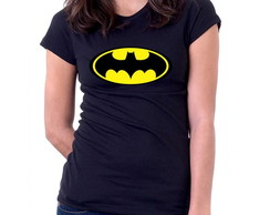 Camiseta Feminina Baby Look Batman