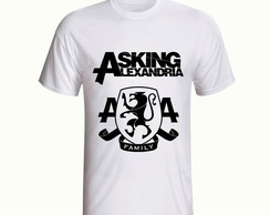 Camiseta Asking Alexandria Banda Rock