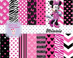 KIT PAPEL DIGITAL MINNIE 23-6