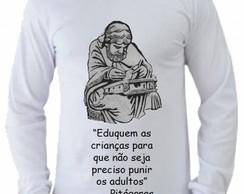 ... Camiseta Pitágoras manga longa 2 96c6a22e96d05