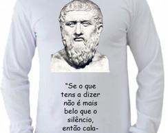 ... Camiseta Pitágoras manga longa 3 89c74f556e8dd