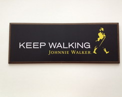 Quadro 40X15 Johnnie Walker
