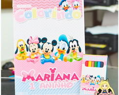 Kit Colorir Disney Baby personalizado