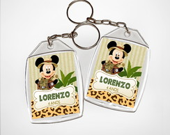 Chaveiro Safari Mickey