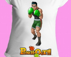 Camiseta Punch Out gola canoa 1