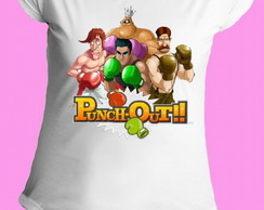 Camiseta Punch Out gola canoa 2
