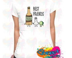 Camisa Personalizada Best Friends