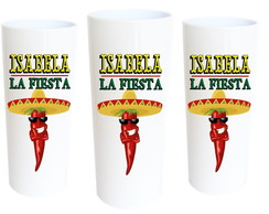 Copo Long Drink Fiesta Mexicana