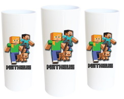 Copo Long Drink Minecraft