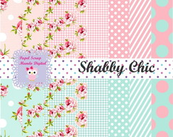 KIT PAPEL DIGITAL SHABBY CHIC 14-21
