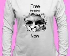 ... Camiseta Palestina Canoa Longa 2 449177cabdedb