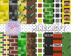 KIT PAPEL DIGITAL MINECRAFT 2