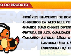 Chaveiro Pokemon Charmander