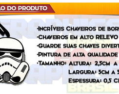 Chaveiro Star Wars Storm Trooper