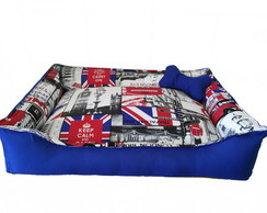 Cama para cachorro G (Keep Calm /London)
