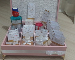 Kit toillete feminino luxo com renda