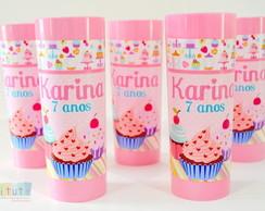 Copo Long Drink Cupcake