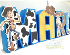 Letras 3D Toy Story