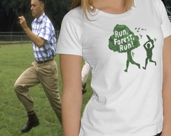 Camiseta Feminina Run Forest - Ecologia