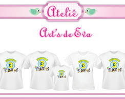 Kit Camiseta Baby Looney Tunes