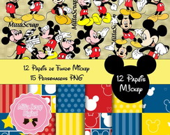 Kit Scrapbook Digital Mickey
