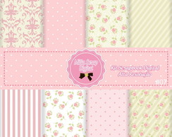 Kit Scrapbook Digital Shabby Chic #07