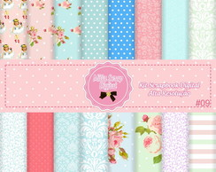 Kit Scrapbook Digital Shabby Chic #09